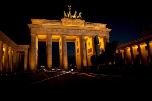 Branderburger Tor - Nacht