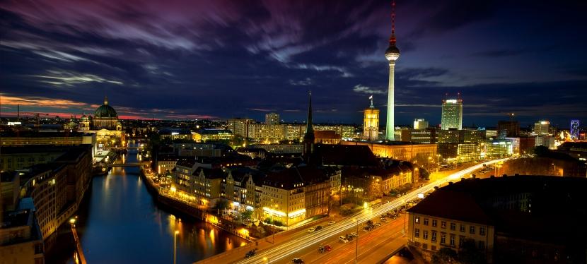Berlin von oben –Wartezeit