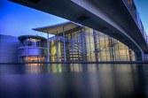 Regierungsviertel Berlin - blaue Stunde