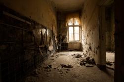 Beelitz Heilstätten - leeres Zimmer - Lost Place