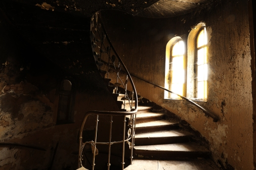 Altes Treppenhaus Hotel - Lost Place