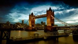Tower Bridge - Blaue Stunde