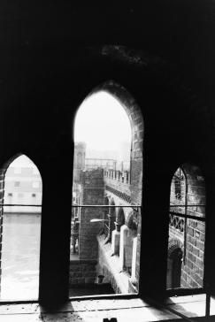 Oberbaumbrücke von Innen - 1990