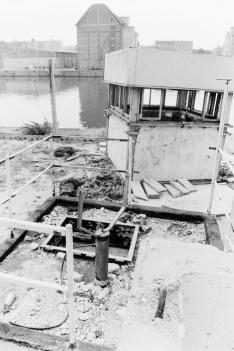 Verlassener Wachturm 08/1990 Berlin