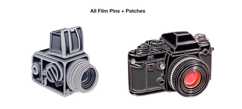 Zeitreise: Retro-Pins mit Motiven aus der analogenFotografie