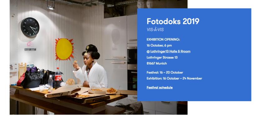 FOTODOKS – Festival für aktuelle Dokumentarfotografie