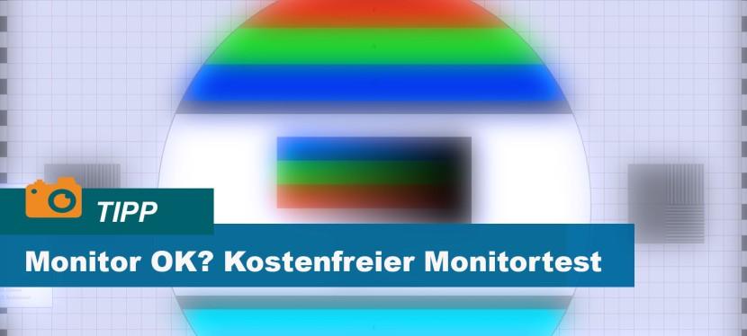 Monitor korrekt und fehlerfrei?  Der kostenfreieMonitortest