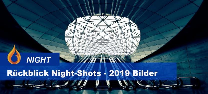 """Rückspiegel Night-Shots – meine """"blaue Stunde"""" Bilder2019"""