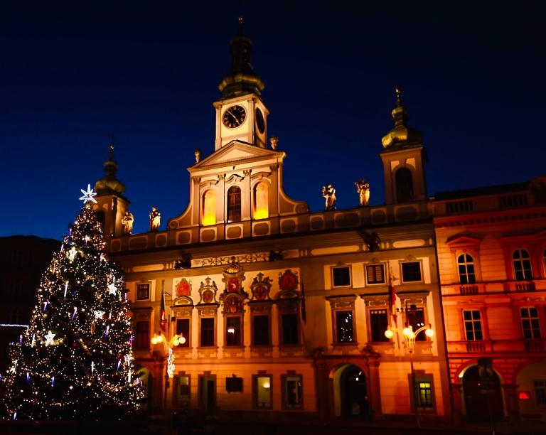Rathaus Budweis České Budějovice