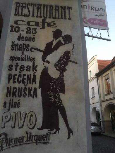 České Budějovice - Arkaden Werbung