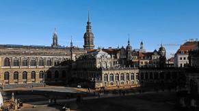 Blick auf Altstadt Dresden