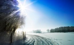 Winterlandschaft Bayern/Glonn