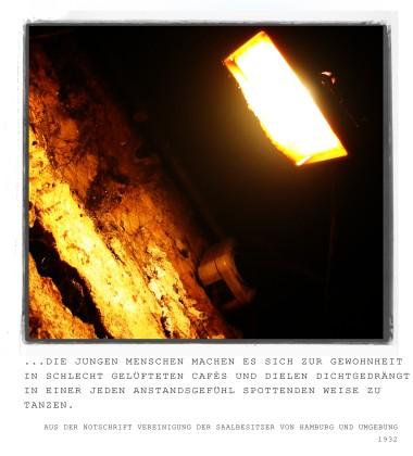 Tresor Berlin Gang + Auszug Text 30er Jahre