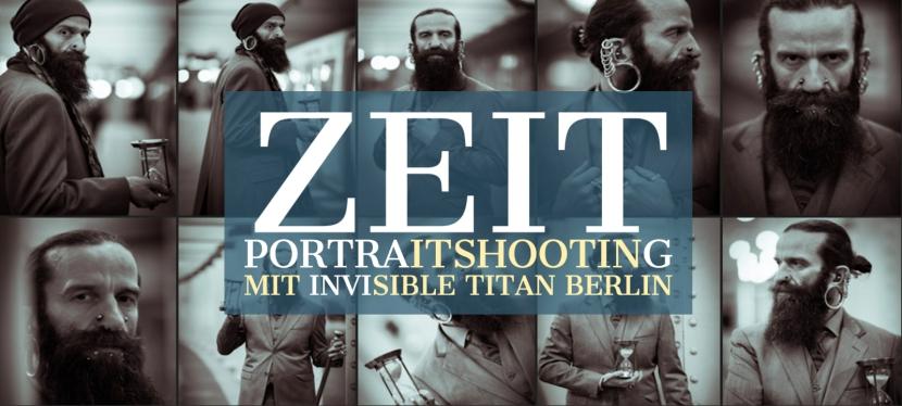 Alles eine Frage der Zeit – Portraitshooting InvisibleTitan