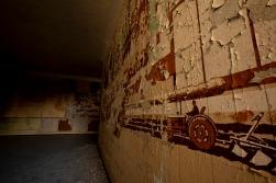 Sozialistische Wandmalerei Haus der Offiziere Wünsdorf