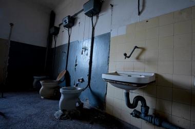 Sanitäranlagen Haus der Offiziere Wünsdorf