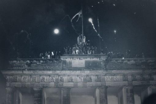 Sylvester 1989 - Brandenburger Tor