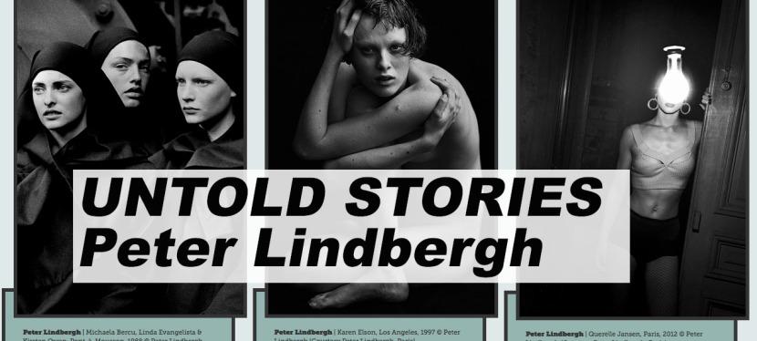 TIPP: Buch- und Ausstellung – Peter Lindbergh – UNTOLDSTORIES