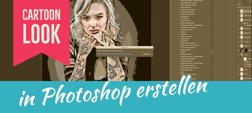 Cartoon Look in Photoshop erstellen – KostenlosesPS-Script