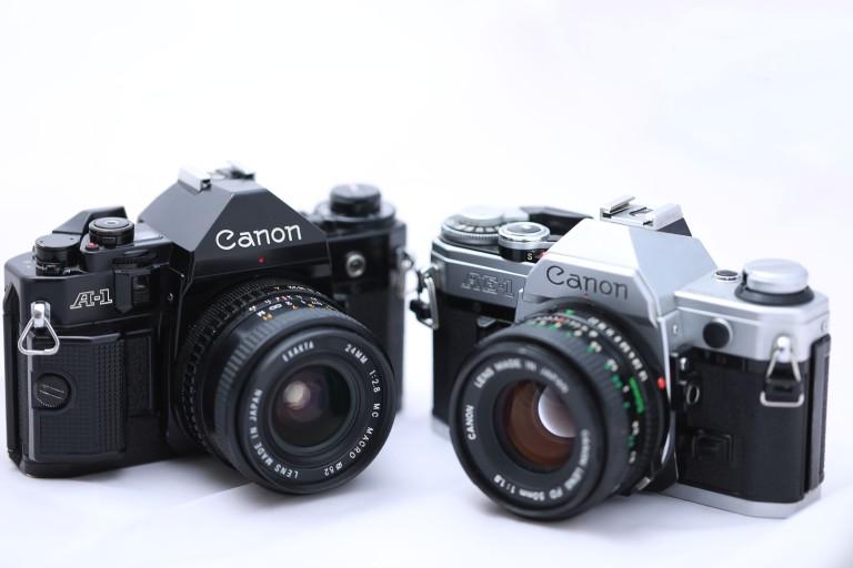 Canon A1 und Canon AE-1