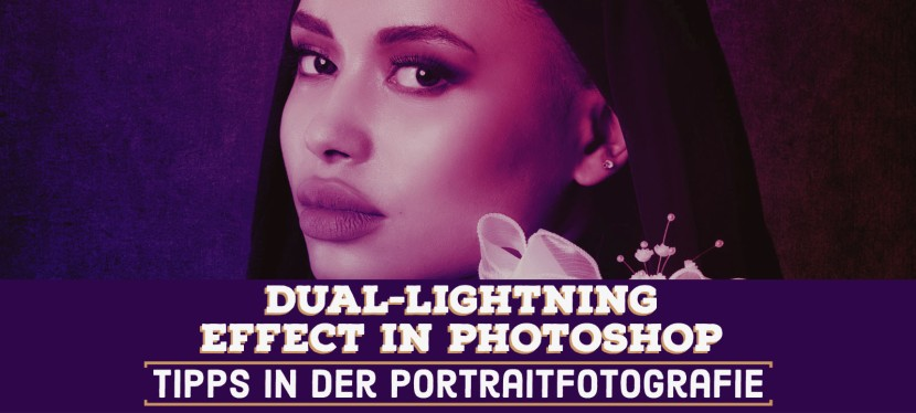 Dual-Lighting Effect in Photoshop – Portraitfotografie