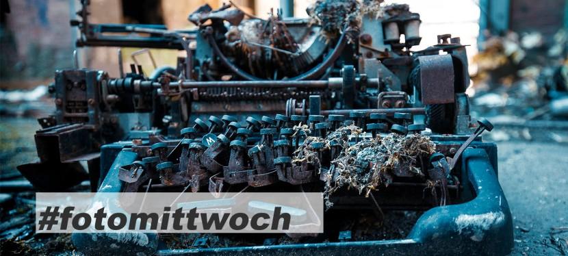 #fotomittwoch *043 – alteSchreibmaschine