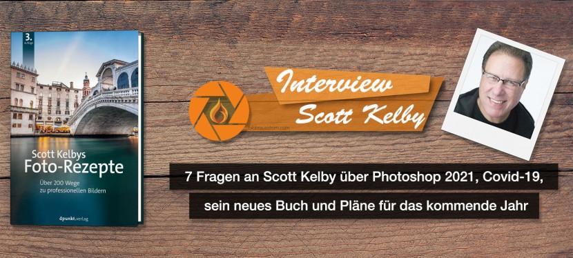 7 Fragen an Scott Kelby über Photoshop 2021, Covid-19, sein neues Buch und Pläne für das kommendeJahr