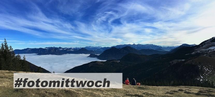 #fotomittwoch *049 – Über den Wolken mit Großglockner-Blick