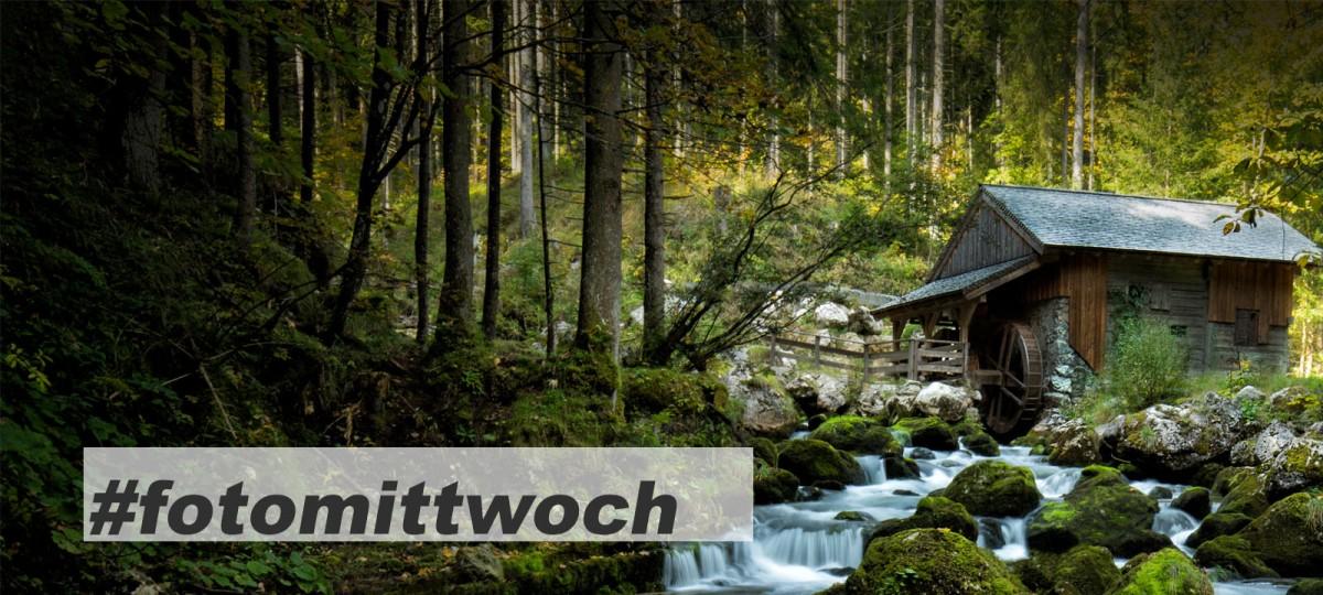 Golling alte Mühle im Wald -