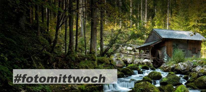 #fotomittwoch *066 – Die alte Mühle imWald